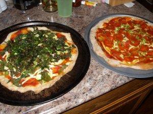 garden pizzas