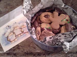 Christmas cookies from a friend